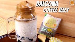 DALGONA COFFEE | HOW TO MAKE TRENDING DALGONA COFFEE WITH COFFEE JELLY | Mortar and Pastry