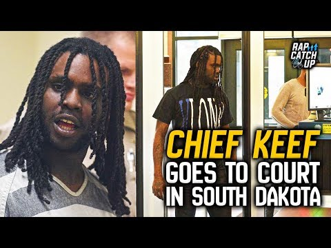 Chief Keef Goes to Court in Sioux Falls, South Dakota for 2017 Charges