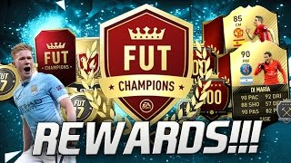 HUNTING FOR IF KEVIN DE BRUYNE!!!! FUT CHAMPIONS PACK OPENING AND SQUAD BUILDER!!