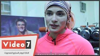 بالفيديو.. بطلة كمال الأجسام خلود عصام: