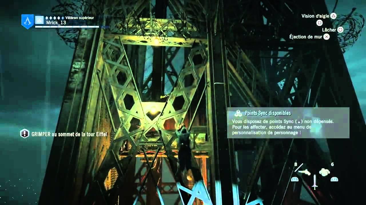 Assassin S Creed Unity Mission Tour Eiffel