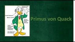 Wer ist Primus von Quack? I Der Donaldist