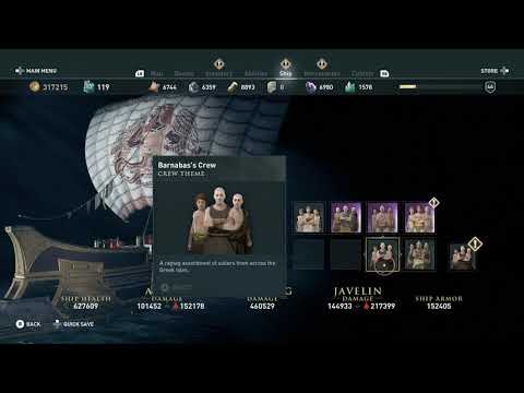 How to get Greek Females Males crew skin by finish pankration olympic quest ac o