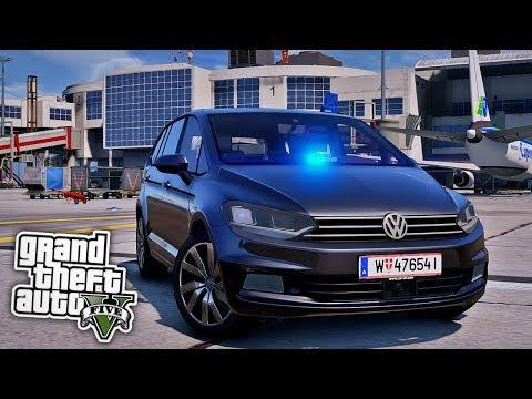 POLIZEI am FLUGHAFEN! – GTA 5 Polizei Mod