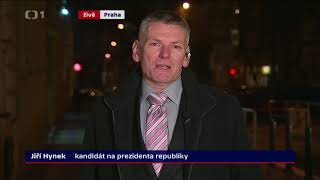 Jiří Hynek: referendum, euro... (Prezidentské volby 2018)