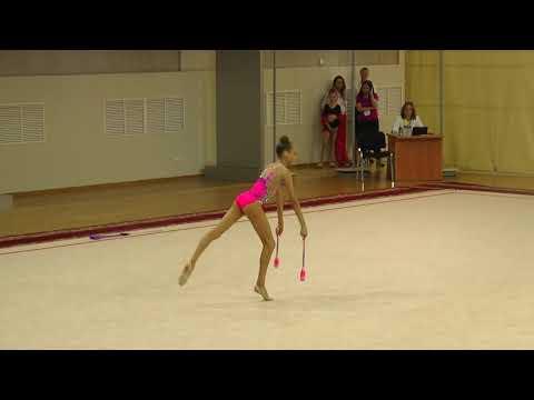 Соревнованиях в индивидуальных упражнениях с Булавами 17 06 19