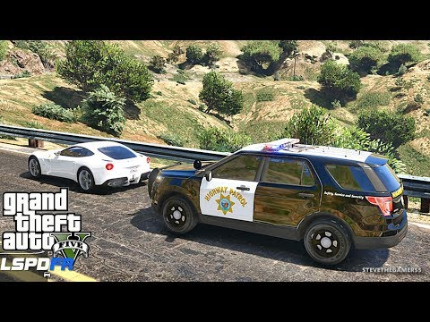 LSPDFR #494 CHP!! (GTA 5 REAL LIFE POLICE PC MOD) TGIF