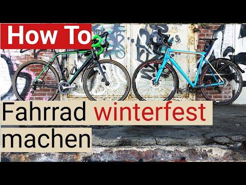 Fahrrad Fit Für Den Winter: Tipps Für Reifen, Sauberkeit Und Sicherheit