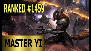 Master Yi Jungle - Full League of Legends Gameplay [German] Lets Play LoL - Ranked #1459