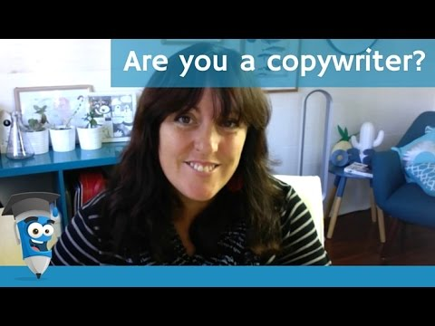 Are you a copywriter?