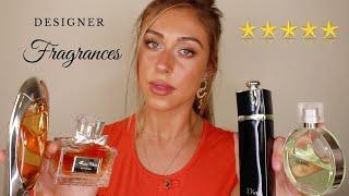 my top 12 DESIGNER perfumes 2019