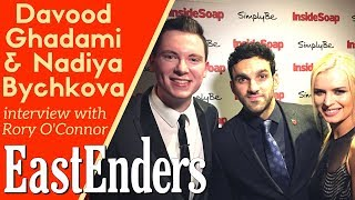 EastEnders Christmas spoilers 2017: Davood Ghadami and Nadiya Bychkova interview with Rory O'Connor