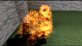 FIRE!!!!! | Roblox Mad Games with Fudz