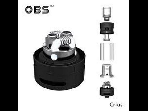 OBS CRIUS Dual Coil Wicklung 0,40 Kanthal 50 Watt