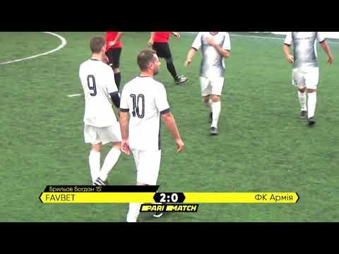 Огляд матчу | FavBet 7 : 2 ФК Армія