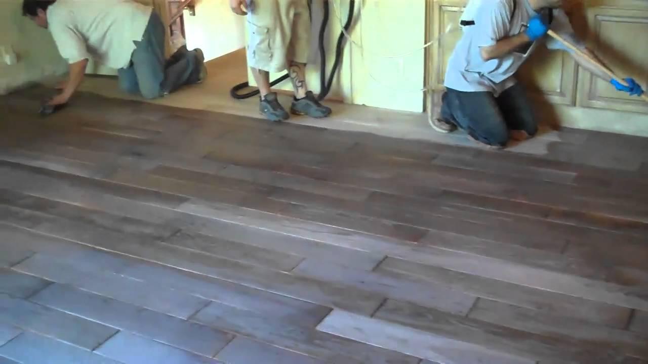 Precision Flooring Rubio Monocoat Fume Youtube