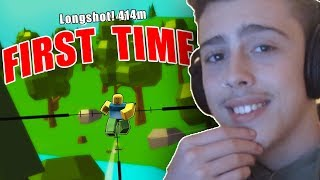 FIRST TIME PLAYING FORTNITE IN ROBLOX! (Roblox Island Royale)
