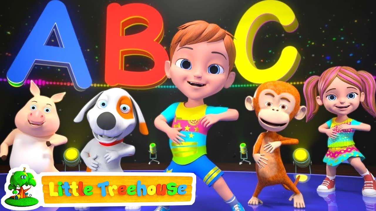 ABC Hip Hop Song | Music for Kids | Kindergarten Songs for Children | Cartoons by Little Treehouse
