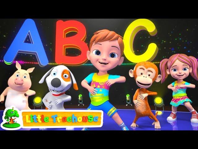 ABC Hip Hop Song   Music for Kids   Kindergarten Songs for Children   Cartoons by Little Treehouse
