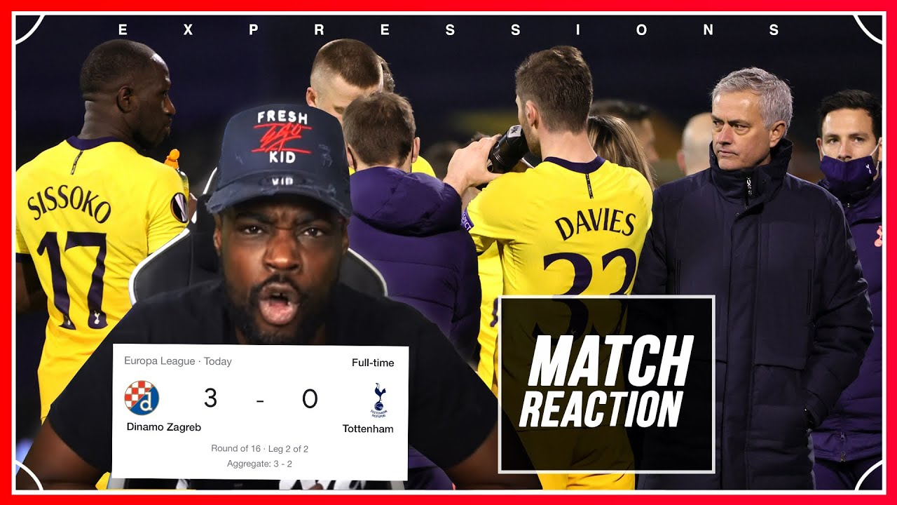 Download CRIMINAL FOSSIL FOOTBALL, A DISGRACE, OUT OF EUROPE IM LIVID!🤬🤬Dinamo (3) vs Spurs (0) EXPRESSIONS