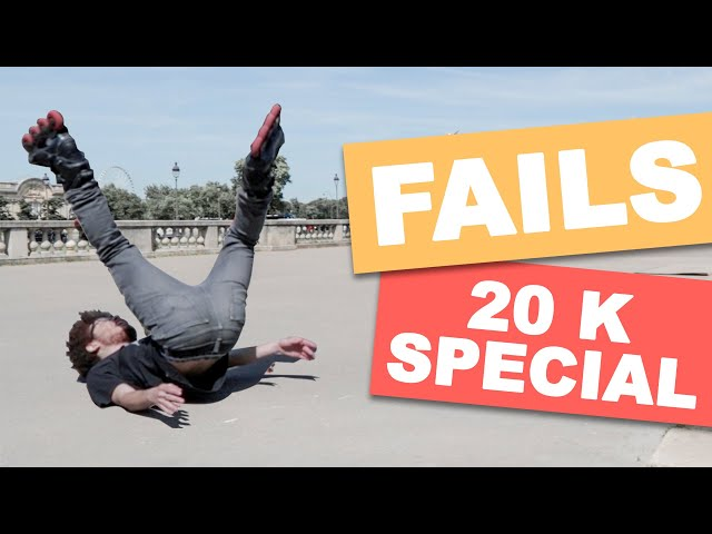 INLINE SKATING FAILS & FUNNY MOMENTS -20K Special!