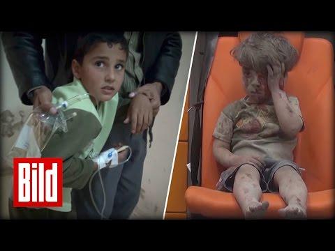 Krieg in Syrien traumatisiert 85% der Kinder - Das unsägliches Leid in der Zivilbevölkerung