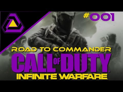 Infinite Warfare Multiplayer RTC #001 - Road to Commander? - Call of Duty Deutsch