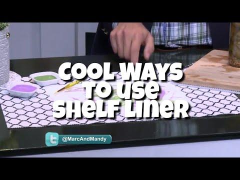DIY Home Ideas l Life Hack for Shelf Liner