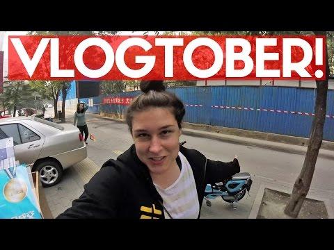 VLOGTOBER!! DAYS 1 & 2 | Daily Life In Beijing