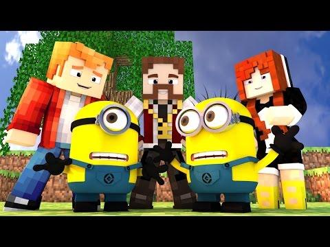 Minecraft: BUILD BATTLE - O NOVO FILME DOS MINIONS!! :O (c/ Miss e Pokey)