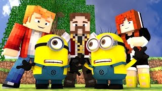 Minecraft: BUILD BATTLE - O NOVO FILME DOS MINIONS!! :O (c/ Miss e Pokey)