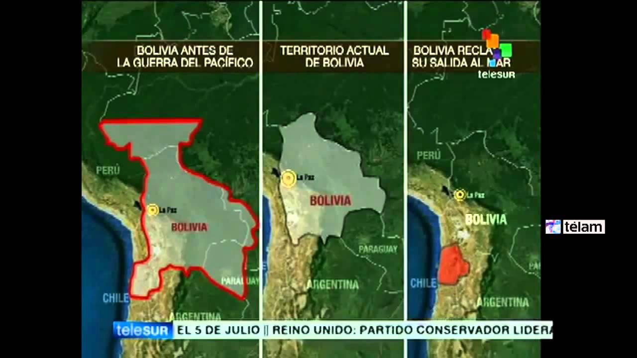 Mapa Antes De La Guerra Con Chile