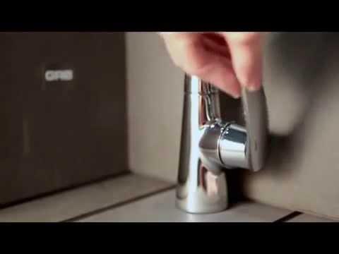 Особенность поворота ручки смесителя для раковины GRB Fregadera Premier (www.santehimport.com)