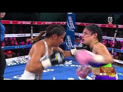 "Lourdes ""Pequeña Lulú"" Juárez vs Marlen ""Catrina"" Sandoval,"