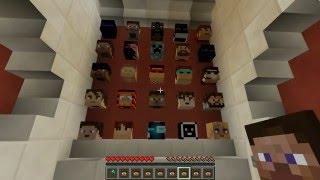 Обзор Мини Игры Minecraft  Угадай Кто!
