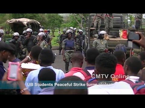 UB Strike Cameroon 28 Nov. 2016