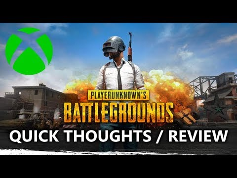 Pubg For Xbox Review My Quick Thoughts Xbox One X
