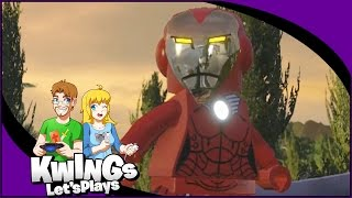 Lego marvel avengers - unlocking rescue and the mandarin!