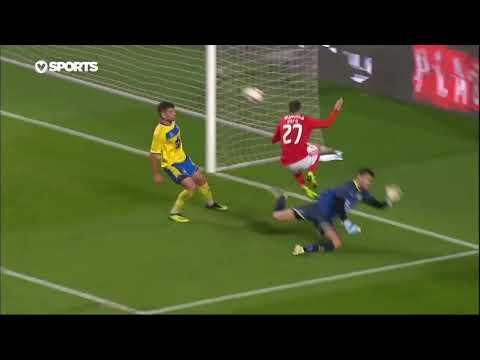 Goal | Golo Rafa: Benfica (2)-1 Arouca (Taça de Portugal 18/19 #4)