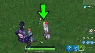 New Bottle Rockets is Dope || Showcase || Fortnite new update