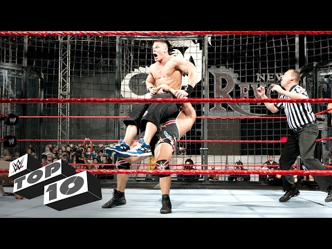 Thumbnail: Elimination Chamber Match OMG Moments: WWE Top 10