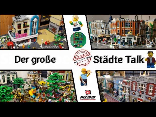 Der große Lego Städte Talk