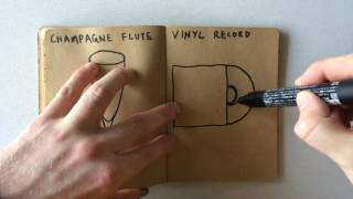 How to Draw a Vinyl Record