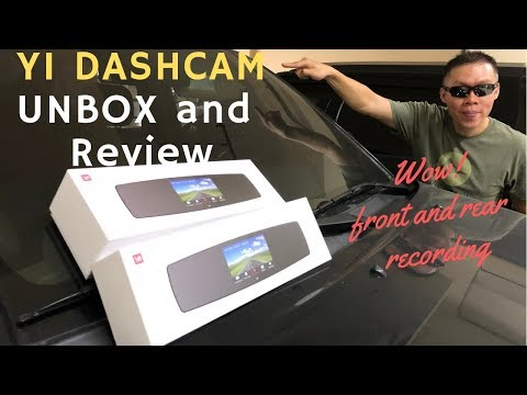Yi Mirror Dash camera - Manila, PHIL Uboxing and Review.