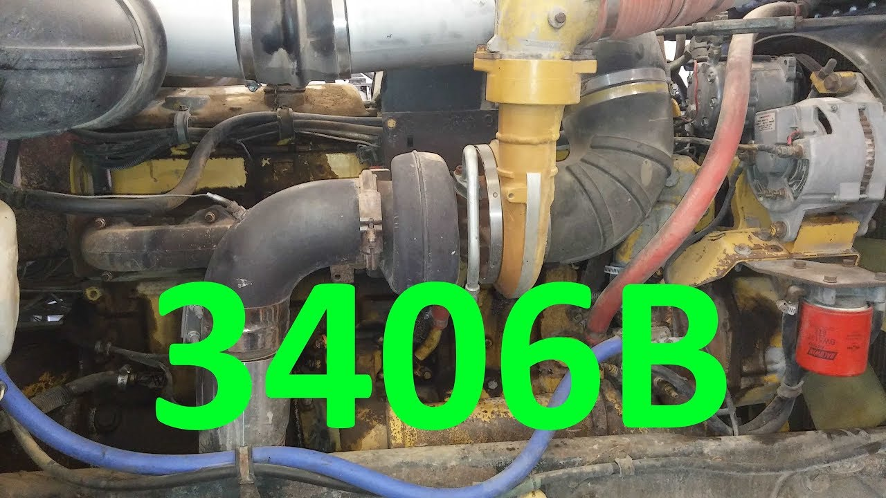 The Cat 3406B Engine Know Your Engine Caterpillar 3406