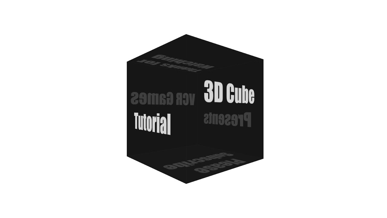 CSS3 3D Tutorial 6 | How to Make a 3D Cube Animation