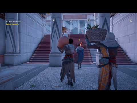 Assassin's Creed: Origins - Aya: Blade of the Goddess: Deliver Cleopatra (In Rug Sequence) PS4 Pro