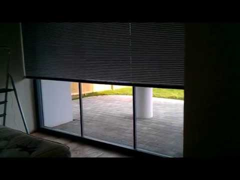 240vac motorised aluminium venetian blinds