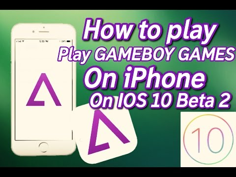 play gba games on iphone how to get gba4ios on ios 10 beta 2 how to play gameboy 6546