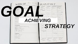 My goal setting strategy to actually achieve 2020 resolutions! what works for you? are you gonna try this one? let me know! your ult...